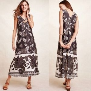 Anthropologie Floreat Soha Floral Maxi Dress XS